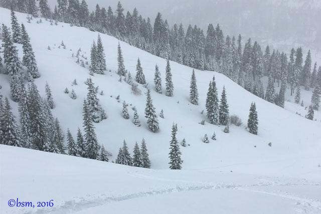 deep snow tahoe