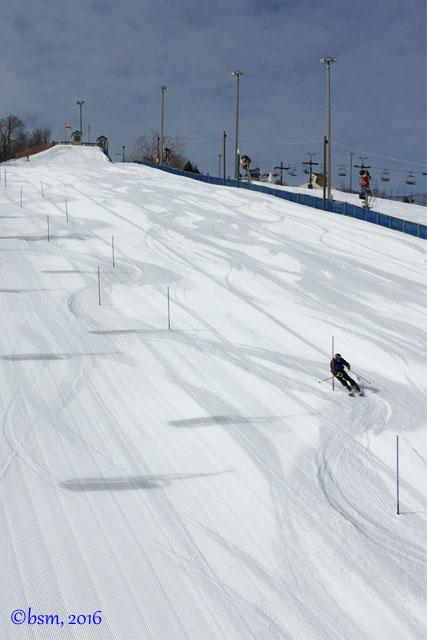 slalom race training buck hill