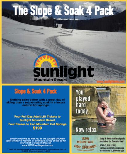 sunlight slope and soak