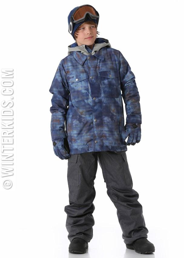 Burton boys uproar jacket