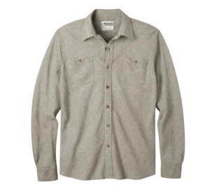 Yak Herringbone Shirt