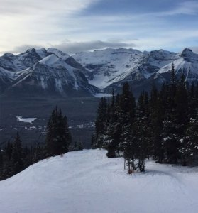 beautiful lake louise ski resort