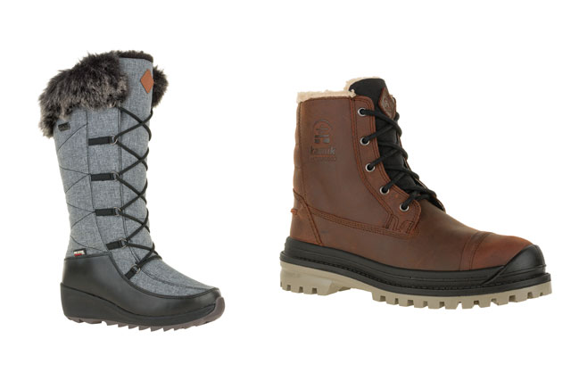 kamik mens and womens boots
