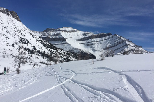 A bluebird day at Lake Louise. Photo courtesy Sabrina Peric.