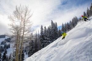great skiing at aspen