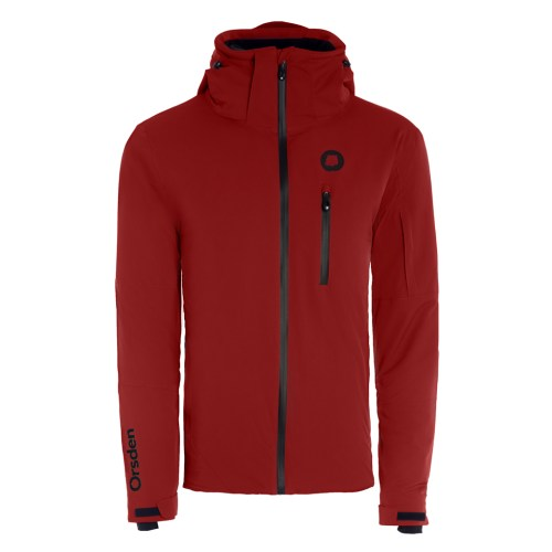 orsden slope jacket mens redwood