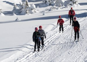 avsc youth nordic skiers