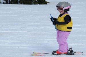 ski ring in action