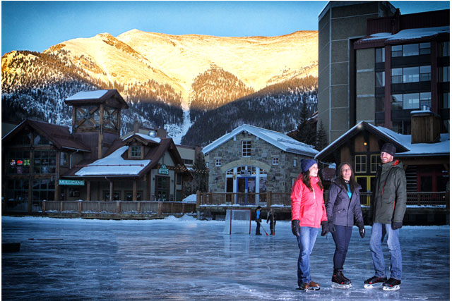copper mountain ice skating