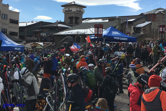 apres scene at steamboat