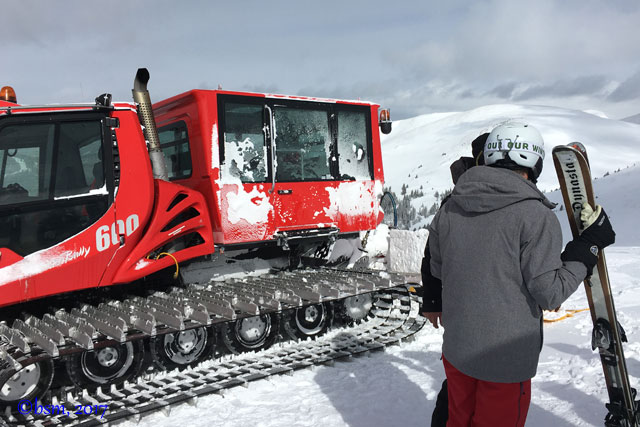 keystone snow cat skiing