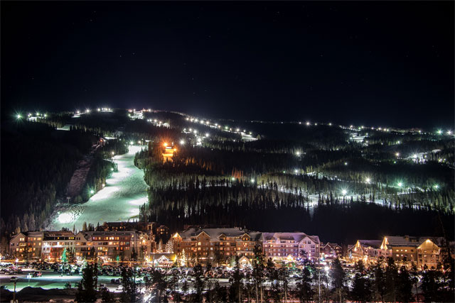 keystone colorado night skiing