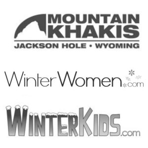 logos for mountain khakis, winter women.com, winter kids.com