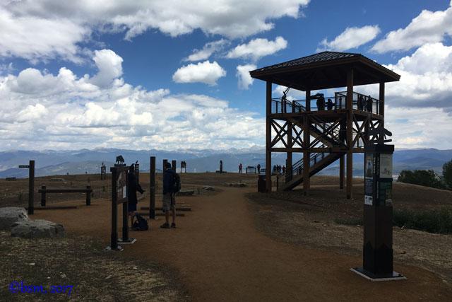 alpine camp observation tower breckenridge