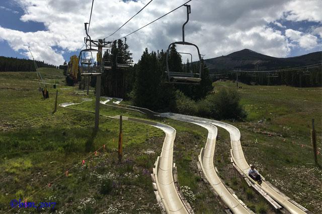 alpine slide breckenridge