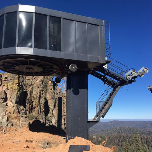 china peak new ski chairlift