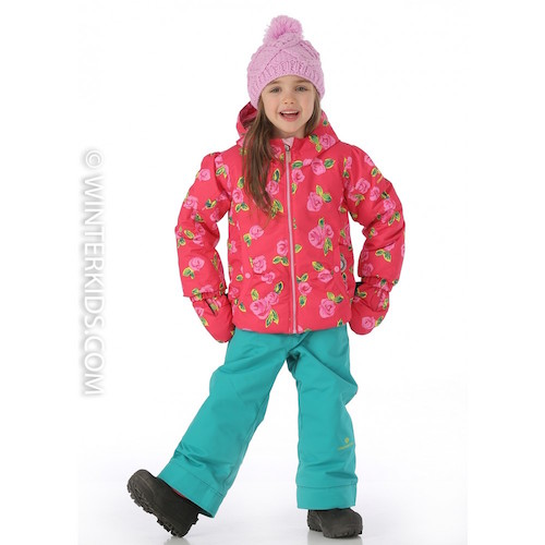Obermeyer Crystal ski jacket for little girls