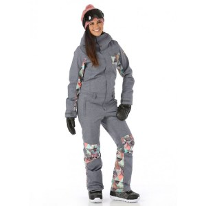 Ski Fashion 2017-2018: Keep Cold and Snow Out with One Piece Suits and Overall Ski Pants (Giveaway)