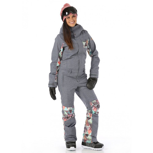 Womens Snow Suit One Piece >> Ski Fashion 2017-2018: Keep Cold and Snow Out with One