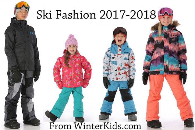 winter kids ski fashion 2017 2018