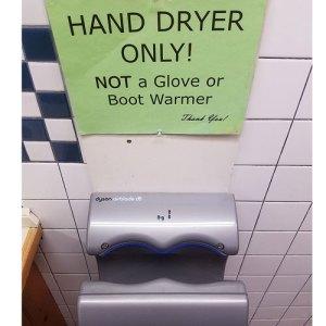 catamount ski area hand dryer