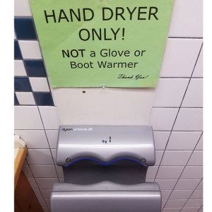 catamount ski area hand dryer