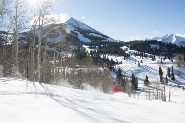 crested butte powder day january 2018