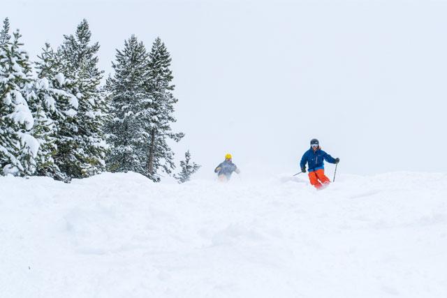 powder day at winter park january 12 2018