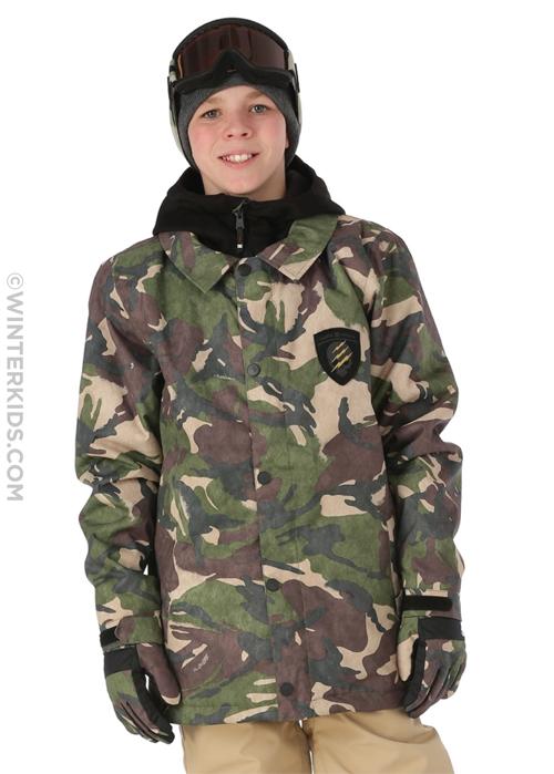 DC Cash Only ski jacket for boys
