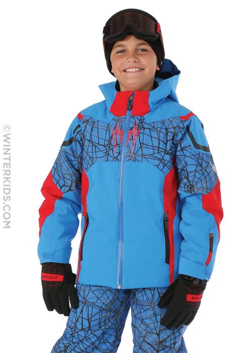 spyder marvel hero ski jacket for boys