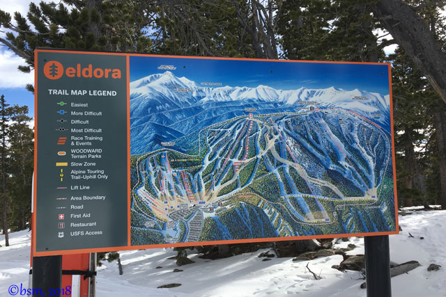 eldora mountain resort trail map