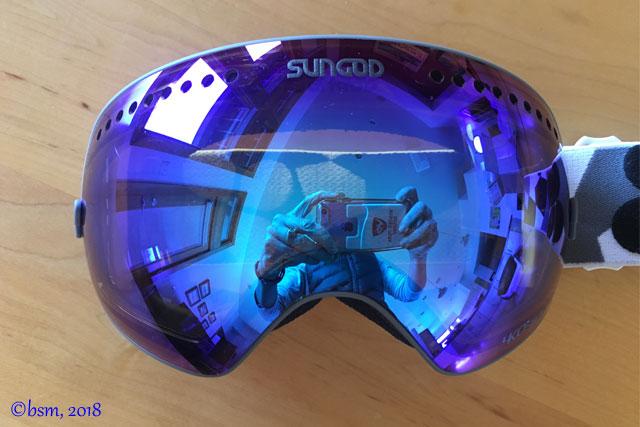 sungod revolts ski goggles