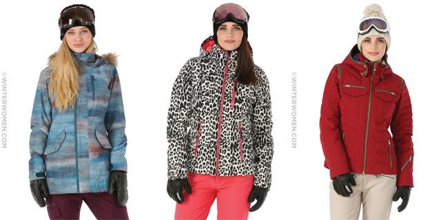 Ski Fashion: A Mid-Winter Look at Women's Ski Jackets From WinterWomen.com (Giveaway)