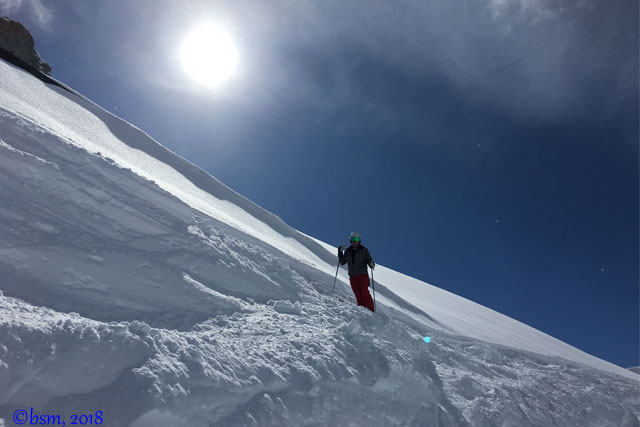 spring skiing st anton am albert