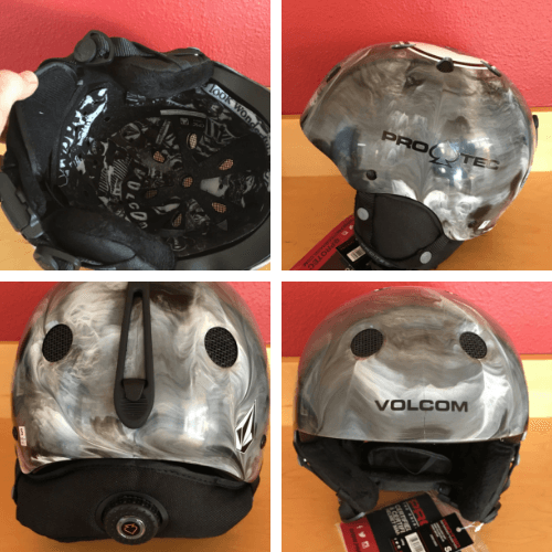 pro-tec jr classic ski helmet