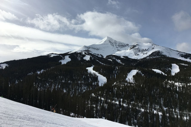 lone peak big sky near bozeman
