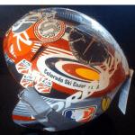 old ski helmet