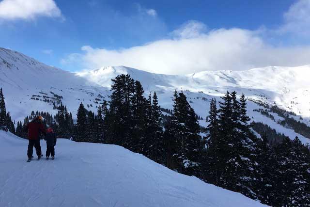 loveland basin family skiing