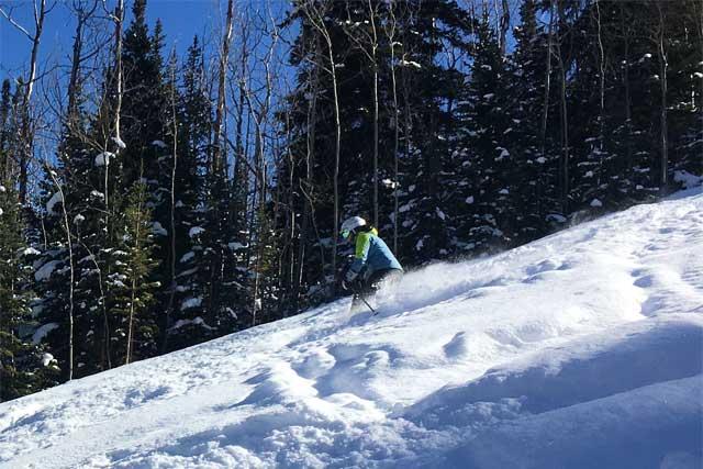 Sunlight Mountain Resort skiing East Ridge