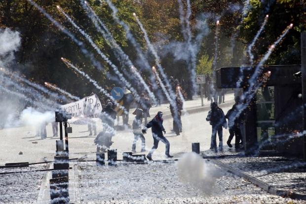 rojava protest turkey violence