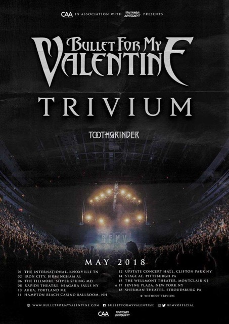 BULLET FOR MY VALENTINE Reveal More Details For Upcoming