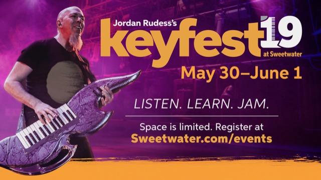 DREAM THEATER 鍵盤手巫師 JORDAN RUDESS KEYFEST 2019 活動揭露新歌發布 1