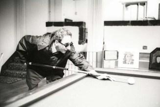 Luciano Viti via Getty Images Franco Battiato nella sua casa di Milo, Catania, nel 1996