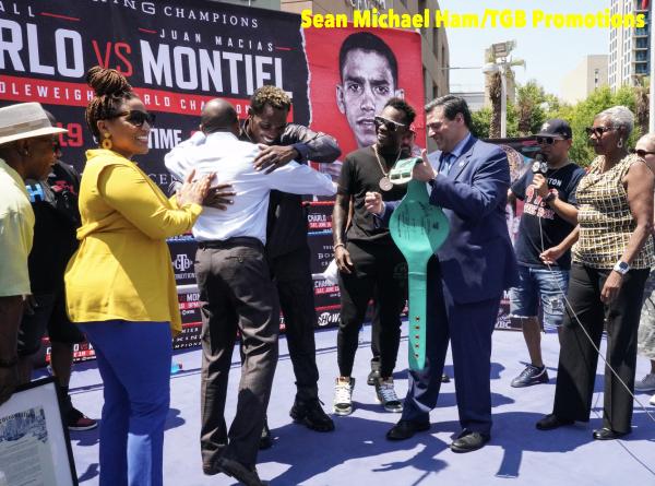 Charlo vs Montiel - Media Workout & Proclamation39