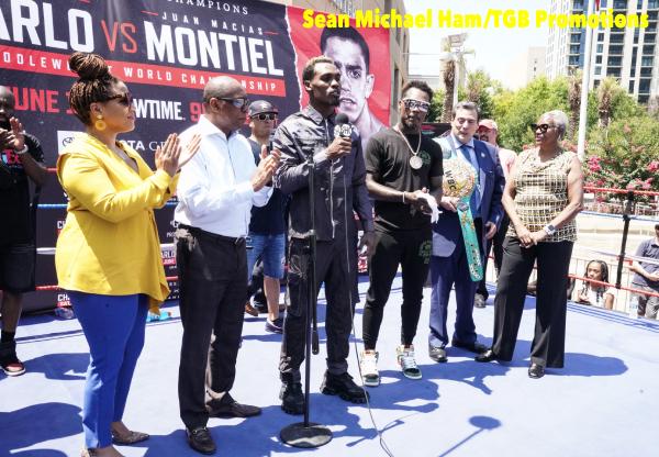 Charlo vs Montiel - Media Workout & Proclamation42