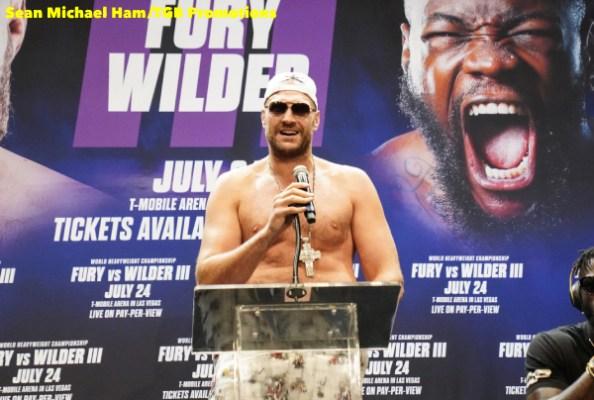 Fury vs Wilder 3 - Press Conference (LA)17