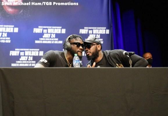 Fury vs Wilder 3 - Press Conference (LA)2