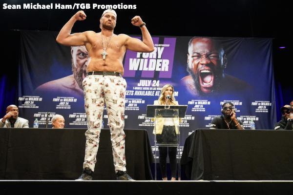 Fury vs Wilder 3 - Press Conference (LA)4
