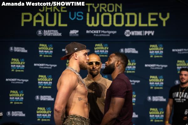 Jake Paul vs Tyron Woodley
