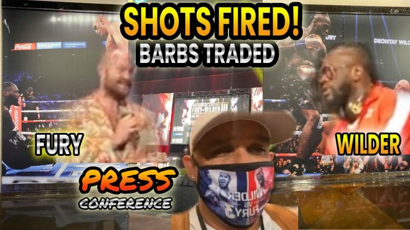 Wilder vs Fury 3 Press Conference